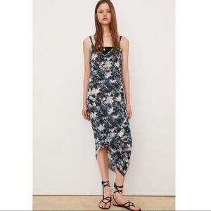 Zara Tie Dye Printed Maxi Dress 53/n